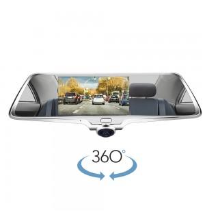 "Edotec EDT-FSX66 Oglinda cu monitor de 5"" camera video 360 grade"