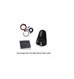 Alpine Pachet tub SWT-12S4 + BBX-T600+350940 - Subwoofere Auto Alpine Pachet SWT-12S4 + BBX-T600+350940