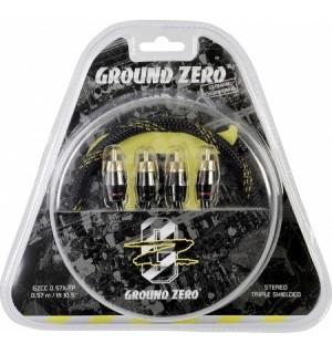 Cablu RCA Ground Zero GZCC 0.57X-TP - Accesorii Ground Zero GZCC 0.57X-TP