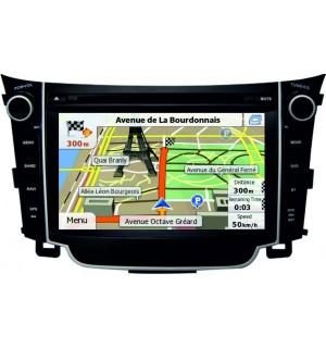 Sistem Multimedia Dedicat Hyundai i30 Car Vision DNB-i30 2013-2014 - Navigatii Dedicate Car Vision DNB-i30
