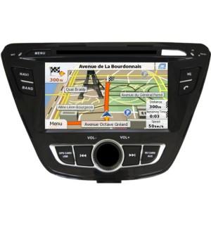 Sistem Multimedia Dedicat Hyundai ELANTRA 2014 Car Vision DNB-ELANTRA 2014 - Navigatii Dedicate Car Vision DNB-ELANTRA 2014
