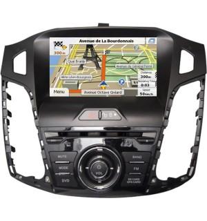 Sistem Multimedia Dedicat Ford Focus Car Vision DNB-Focus 2012-2014 - Navigatii Dedicate Car Vision DNB-Focus