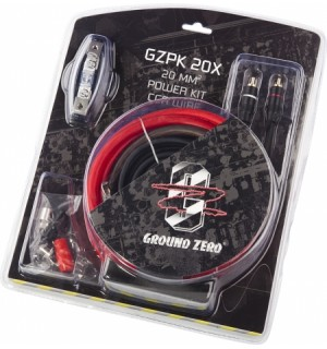 Kit cabluri amplificator Ground Zero GZPK 20X - Accesorii Ground Zero GZPK20X